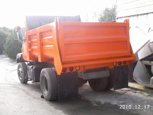 caja de 7mtrs de volteo para camion rabon