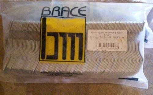 caja de abrazaderas morochas de 3/4 y 1 pulgada