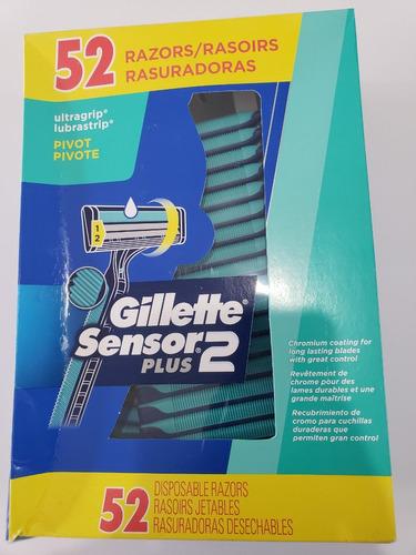 caja de afeitadoras sensor 2 plus gillete
