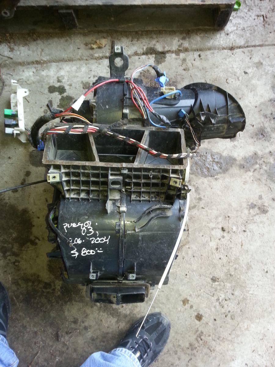 Caja de aire acondicionado completa peugeot 206 modelo for Caja aire acondicionado