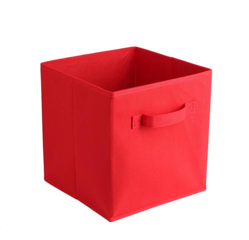 caja de almacenamiento bolsa de tela no tejida caja plegable