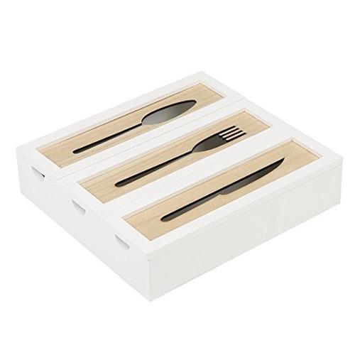 caja de almacenamiento organizador del utensilio decorativo