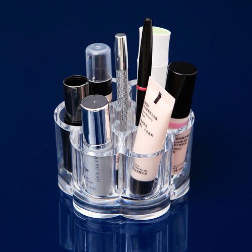 caja de almacenamiento para maquillaje, transparente