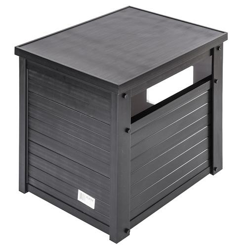 caja de aserrín/mesa auxiliar ecoflex litter loo.