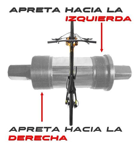 caja de bicicleta neco rulemanes d-i 34.7mm x 123mm largo