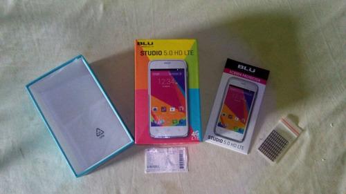 caja de blu studio 5.0 hd lte (protector de pantalla)