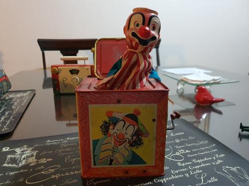 caja de broma antigua vintage