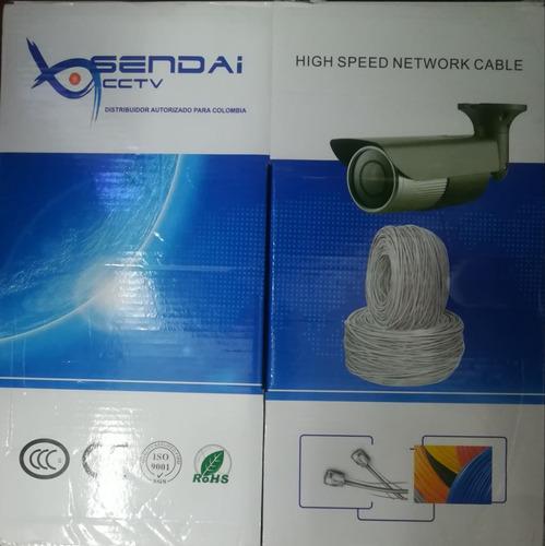 caja de cable utp exterior categoria 5e 305m de calidad