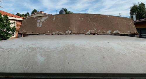 caja de carga con techo desmontable