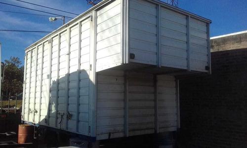 caja de carga mudancera 6 puertas ideal para f-4000 llamanos
