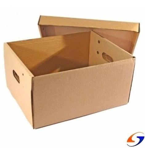 caja de cartón archivo multiuso 42x32x20 serviciopapelero