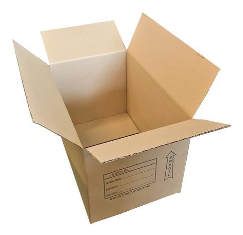 caja de carton corrugado 60x40x40 atado x15 unidades