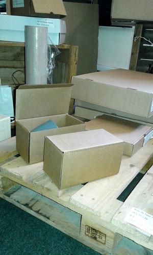 caja de carton para envío - packaging pequeño 18 x 10,5 x 10