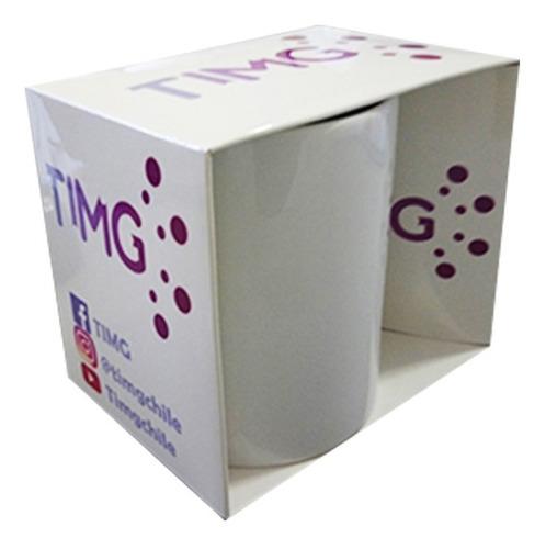 caja de carton sublimable para tazones de 11oz - 2 und