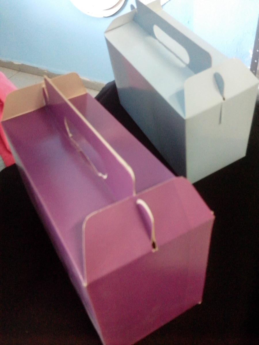caja de carton tipo lonchera en mercado libre