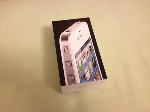 caja de celular iphone 4 16 gb con manuales