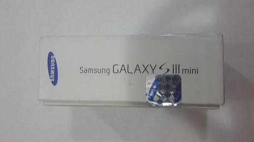 caja de celular samsung galaxy mini s3