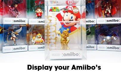 caja de coleccionista para amiibo [juego de 3]