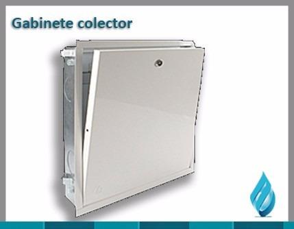 caja de colector 2 a 4 circuitos / gabinete colector