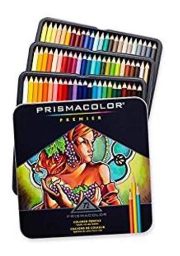 caja de colores prismacolor 72