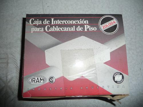 caja de conexion para pisocanal zoloda