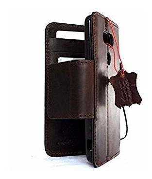 caja de cuero genuino monedero real para lg g5 libro imán c