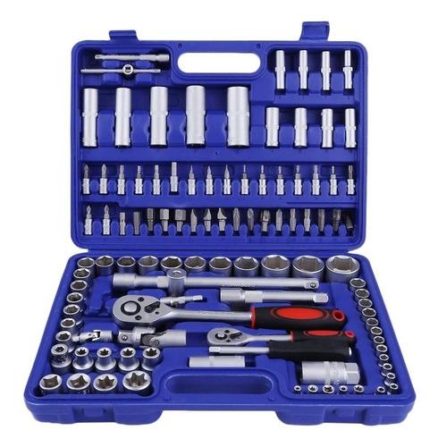 caja de dados 108 piezas profesional cromo vanadio