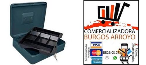 caja de dinero metálica hermex