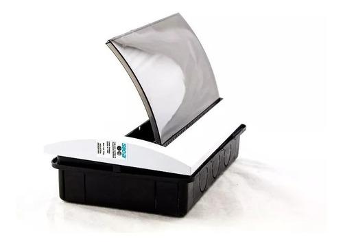caja de embutir 8 módulos sica prestige con tapa fume