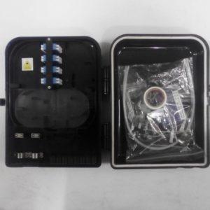 caja de empalme sc-lc de 16 conexiones