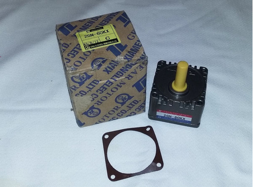 caja de engranes, gear box, 2gn-60kx