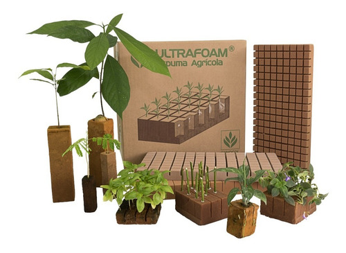 caja de espuma agrícola ultrafoam 10x10x30 (32 cubos)