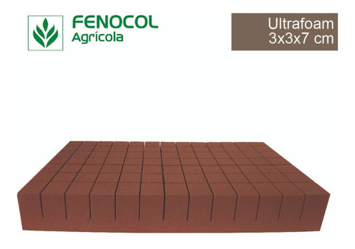caja de espuma agrícola ultrafoam 3x3x7 (910 cubos)
