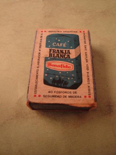 caja de fosforo cafe bonafide