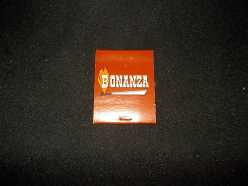 caja de fosforos americana, casa de comidas bonanza (llena)