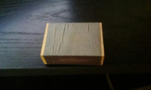 caja de fósforos fragata
