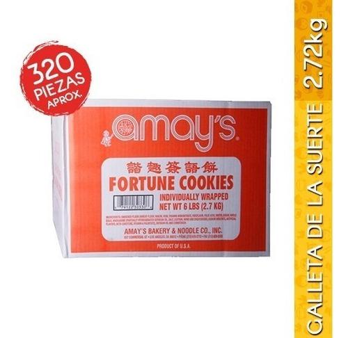caja de galleta de la suerte 2.72kg (320 piezas aprox.)