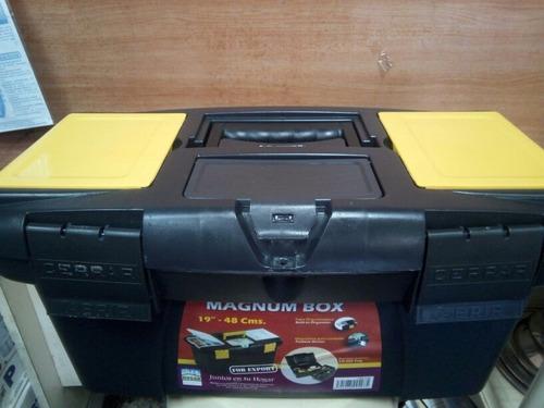 caja de herramienta 19  magnum box alfa hogar 15 trumps