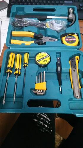 caja de herramienta de 16 pieza nueva
