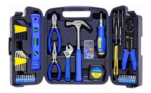 caja de herramientas 129 piezas maletin goodyear gy-htk-5009