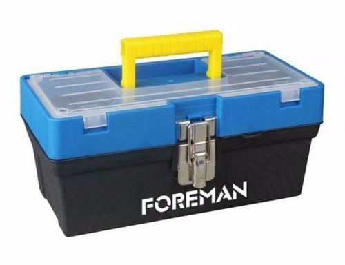 caja de herramientas 13´´ pvc alto impacto broche metal
