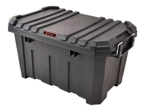 caja de herramientas baúl 61x38x33 cm tactix 45 litros