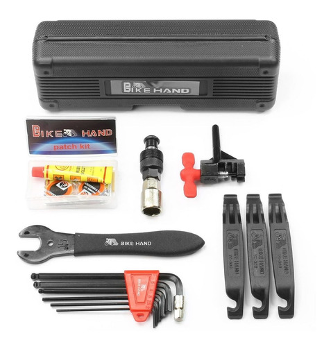 caja de herramientas bike hand yc-628 para bicicletas