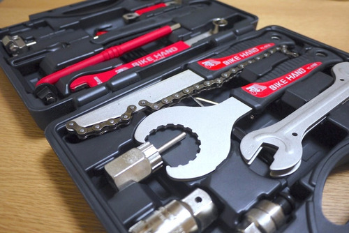 caja de herramientas bike hand yc-728 con valija