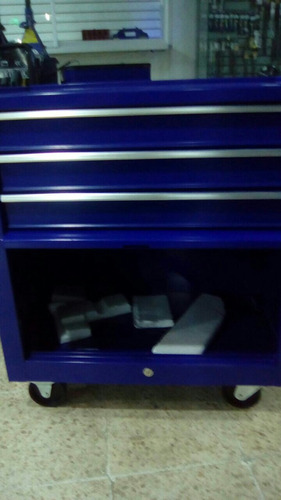 caja de herramientas con ruedas metalica marca bp