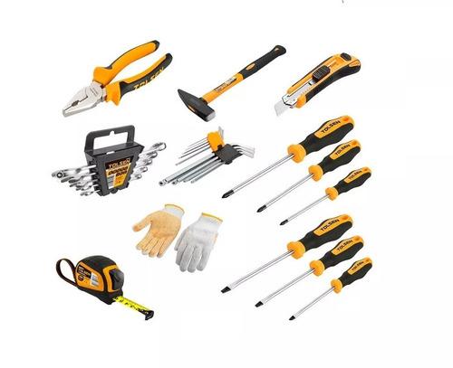 caja de herramientas de 26 piezas tolsen