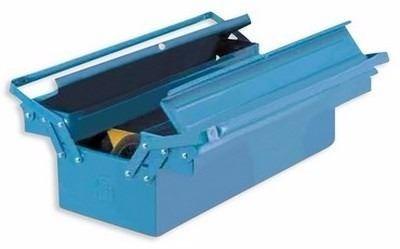 caja de herramientas de chapa acordeón 3 cajones cmb 100bbas