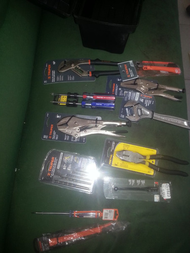 caja de herramientas en combo