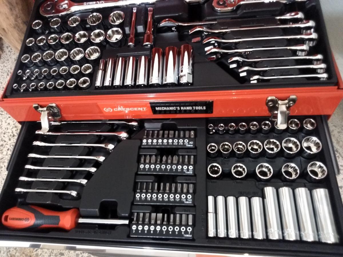 Caja de herramientas mecanico 165 piezasmilimetricos - Cajas de herramientas baratas ...