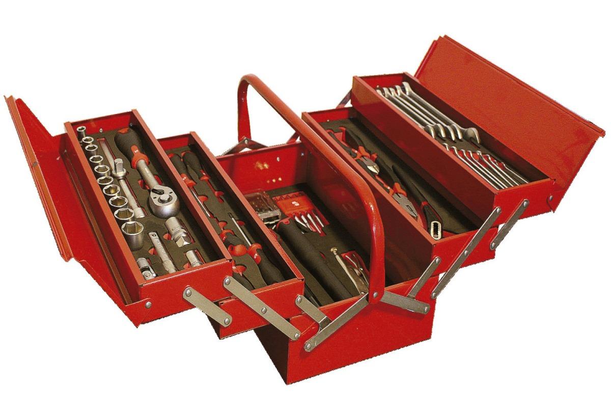 Caja de herramientas met lica 3 pisos en - Cajas para guardar herramientas ...